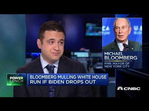 Billionaire Michael Bloomberg mulls White House run if Biden drops out