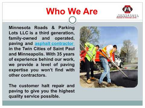 asphalt paving minneapolis