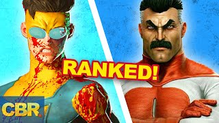 25 Invincible Characters Ranked By Powers