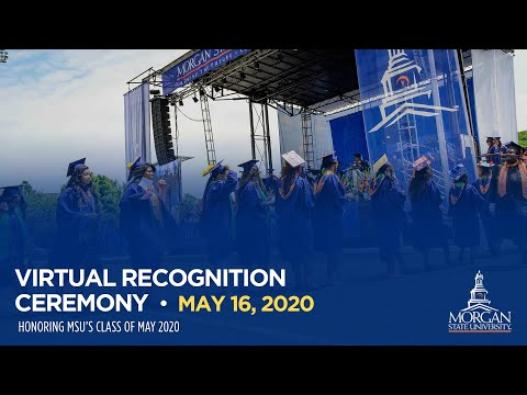 Virtual Recognition Ceremony for 2020 Spring Graduates