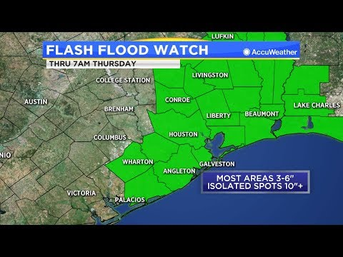 LIVE NOW: Tropical depression continues to pound Houston area