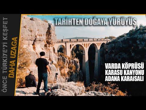 Varda Köprüsü, Kapıkaya Kanyonu, 20 km Orman Yürüyüşü, Adana Karaisalı Orman Parkuru. Daha Uzaga