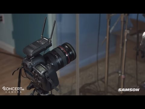 Samson Concert 88 Camera Product Overview