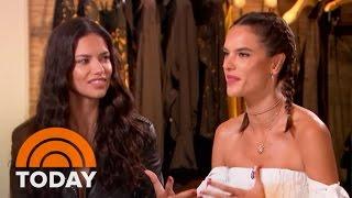 Models Alessandra Ambrosio, Adriana Lima Talk Beauty And Brazil | TODAY