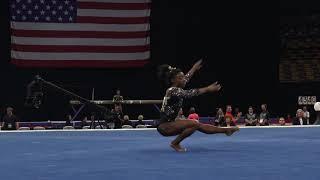 Simone Biles – Floor Exercise – 2018 U.S. Gymnastics Championships – Senior Women Day 1