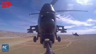 Xem các loại trực thăng của Trung Quốc trong lễ duyệt binh