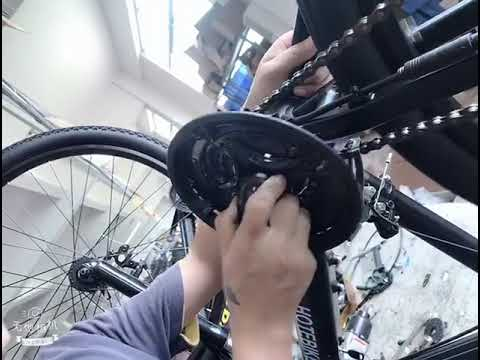 how to assemble and disassemble the crankset