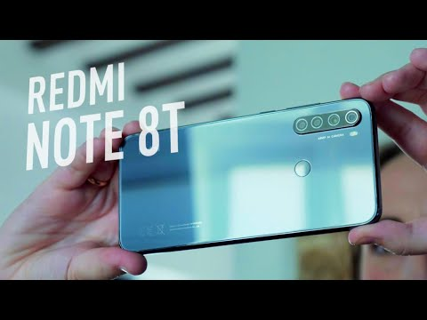 video Xiaomi Redmi Note 8T