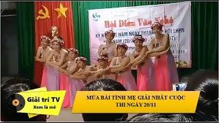Múa bài tình mẹ giải nhất ngày lễ 20 tháng 10 | giải trí TV