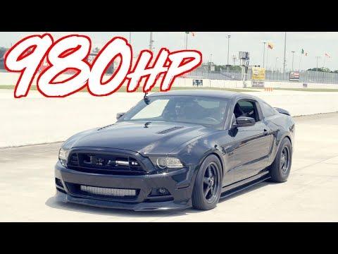980HP Stick Shift Mustang VS AWD!  811HP Evo X - 1000HP 3000GT VR4 - 800HP GTR