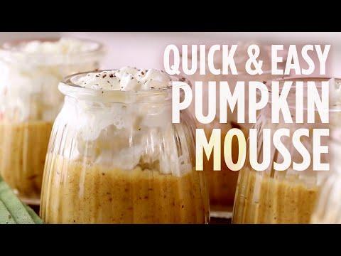 How to Make Quick & Easy Pumpkin Mousse | Dessert Recipes | Allrecipes.com