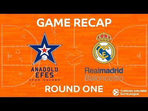 Efes Anadolu Istanbul vs Real Madrid BC