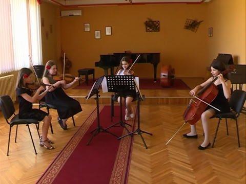 Емисија - Школа за музичке таленте у Ћуприји