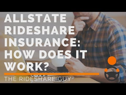 Allstate Rideshare Insurance: How Does It Work?