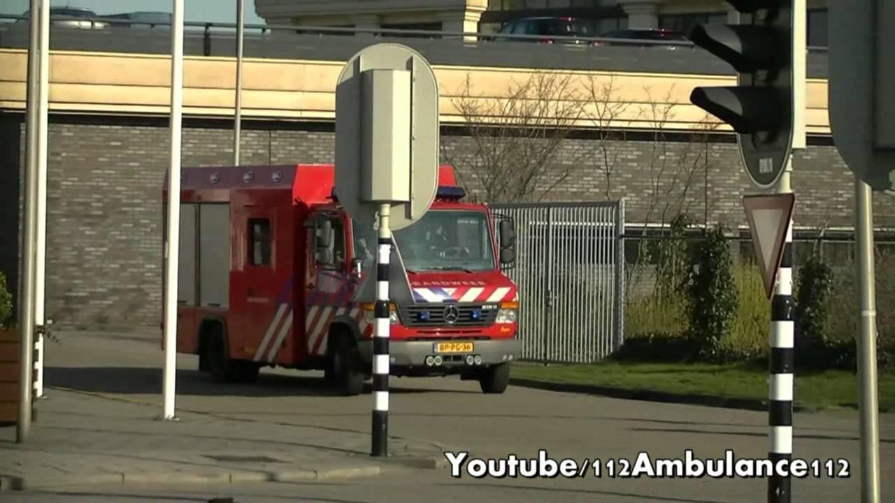 Water Ongevallen Wagen Brandweer Spijkenisse met Spoed ...
