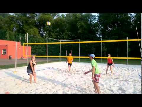 Beach Centrum - trénink pro začátečníky (23. 5. 2016)