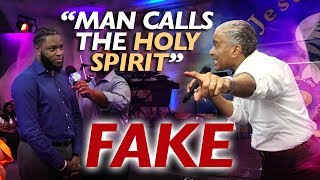 AMAZING !! MAN CALLS THE HOLY SPIRIT FAKE and watch what happened next / Prophet Ed Citronnelli