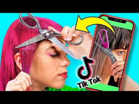 Testing Viral Tik Tok Hacks! Funny Experiments You Can Do At Home