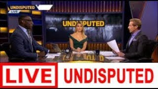 UNDISPUTED 08/23/2019 LIVE HD - First Things First LIVE - Skip Bayless & Shannon Sharpe on FS1