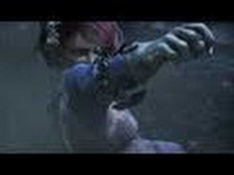 TEKKEN BLOOD VENGEANCE TRAILER  【3D ver.】