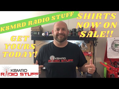 K8MRD RADIO STUFF SHIRTS NOW ON SALE!!