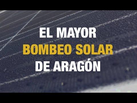 Alusín Solar | El mayor Bombeo Solar de Aragón por Ehisa y Atersa