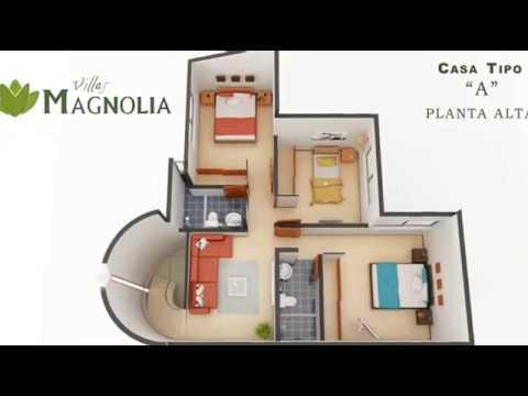 Planos de casas de dos pisos con fachadas modernas for Casas modernas recorrido virtual