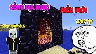 Top 5 Màn Ảo Thuật Bạn Có Thể Thực Hiện Trong Minecraft - Cổng Địa Ngục Kiểu Mới !!