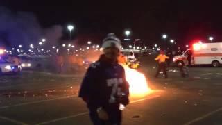 MetLife stadium fire