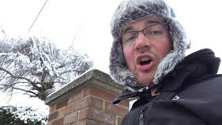 The day after the snow, school run duties need executing still.