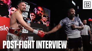 Derek Chisora & Joseph Parker React To Split Decision Result