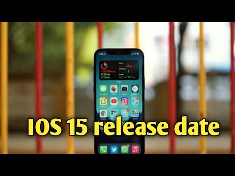when will be release ios 15   ios 15 release date