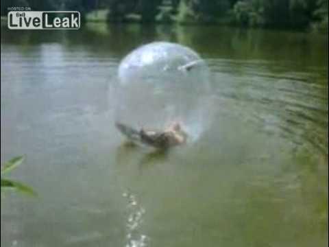 Дядя в пузыре.
