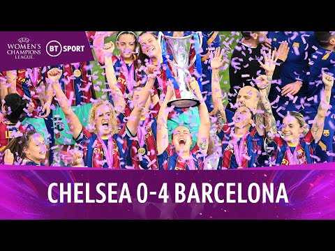 Chelsea Women vs Barcelona Women (0-4) | Sensational Barca Are Champions! | UWCL Final Highlights