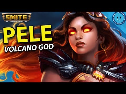 YOU'RE WELCOME! SMITE - PELE BURST DAMAGE BUILD AND GAMEPLAY! NEW GOD IS FIRE!! (Smite Gameplay)