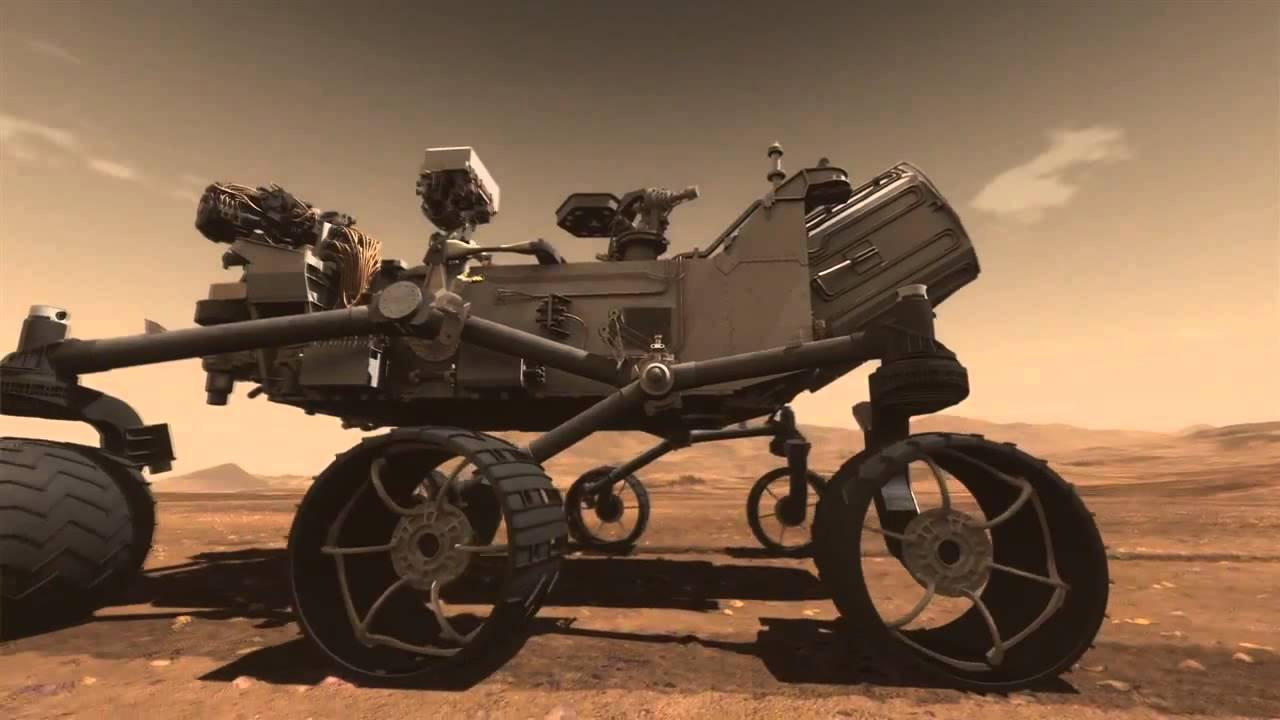 Mars Science Laboratory Curiosity Rover Animation - YouTube