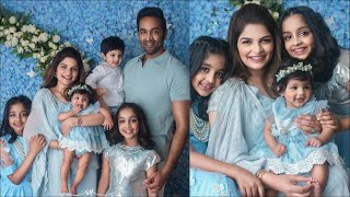 Manchu Vishnu wife Viranica shares 6 month Ayra photoshoot..