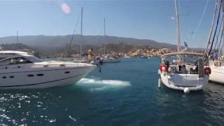 Mediterranean mooring problems in Poros