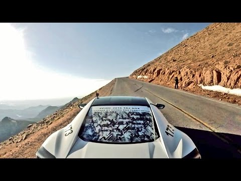 2016 PIKES PEAK Victory Run in Acura NSX