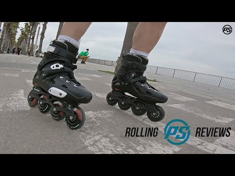 Video POWERSLIDE Roller freeskate IMPERIAL One Black Crimson Noir