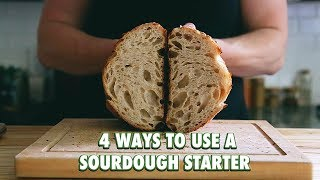 4 (Easy) Ways To Use A Sourdough Starter