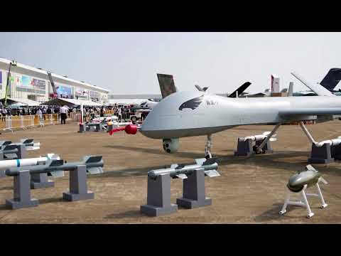 China's high-tech military might soars at air show