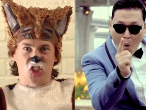 What does the Fox say/Gangnam Style (Ylvis and Psy) Mashup