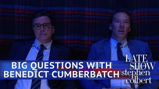 Benedict Cumberbatch: Big Questions With Even Bigger Stars