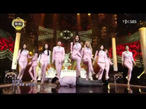 SNSD / Girls' Generation - Mr. Mr.  교차편집 Stage Mix