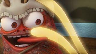 LARVA   SELVAGEM VERMELHO   2017 Filme completo   Dos desenhos animados   Cartoons Para Crianças