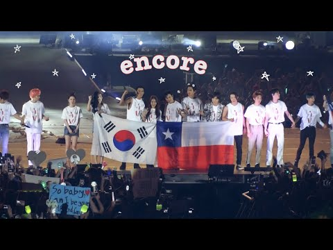 190119 SMTOWN in Santiago Chile - ENDING