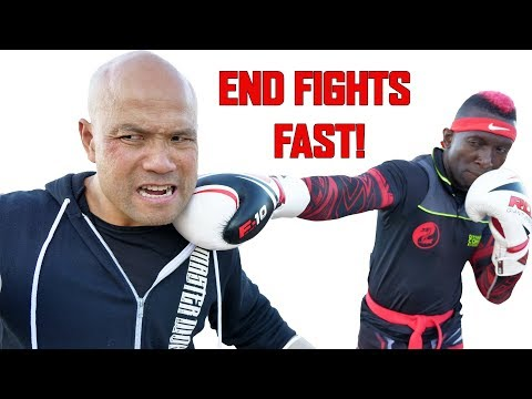 Amazing Kickboxing techniques to End Fights Fast