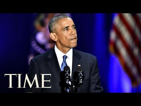 President Obama's Touching Tribute To Michelle   TIME