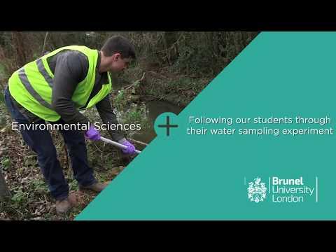 Environmental Sciences water sampling experiment